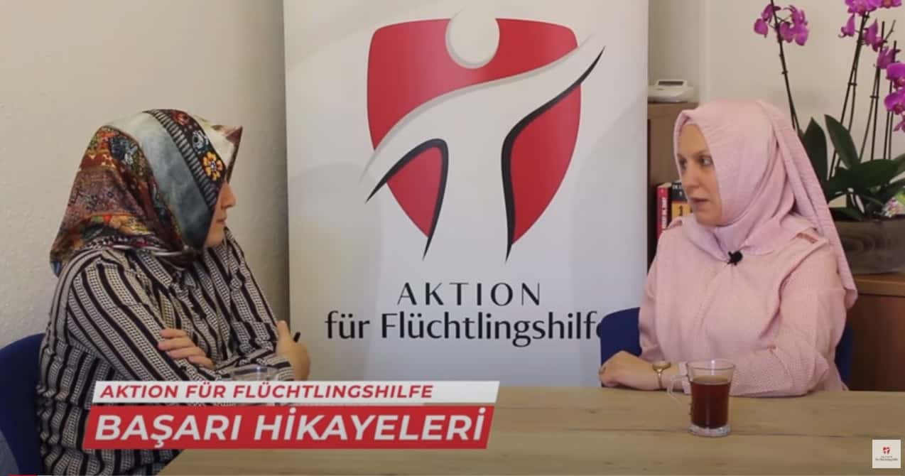 Erfolgsgeschichten – Gesundheitsangestellterin in Deutschland